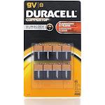 Duracell Batteries EXP 2022 9 Volt 8 Pack