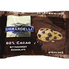 Ghirardelli Chocolate Baking Chips, 60% Cacao Bittersweet - 20 oz pack