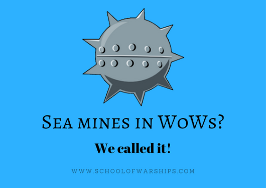 Sea Mines in World of Warships – We called it