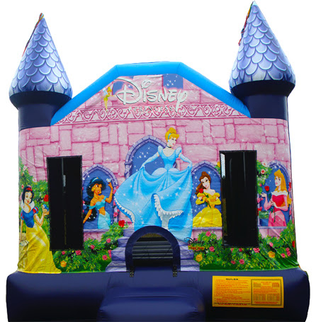 Disney Princess Jumping Castle Melbourne | Jumping Castle Hire Melbourne
