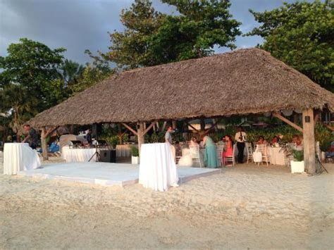 The quaint wedding reception   Picture of Beaches Negril