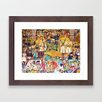 Framed Art Print | History Of Mexico By Diego Rivera by Jeanpaul Ferro - Conservation Walnut - X-Small-10x12 - Society6