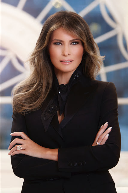 Melania Trump Wears Dolce & Gabbana for Official Portrait