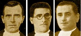 Jos Cecilio (Bonifacio) Rodrguez, Teodomiro (Adriano) Sainz y Evencio (Eusebio) Uyarra, Beatos