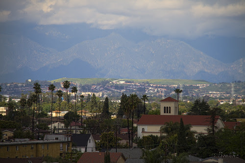 Downey's view to the north