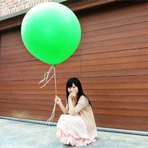 """Cheap Colorful 36"""" Inch Giant Red White Green Balloon"""