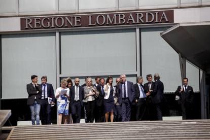 Ema, delegazione a Milano