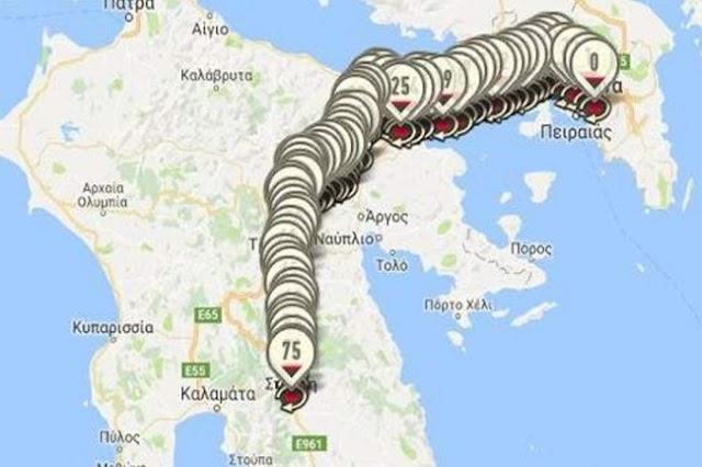 Ερχεται το Σπάρταθλον: Θα τρέξουν 246 χλμ. από την Αθήνα ως τη Σπάρτη