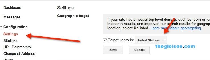 Cách đạt được lượng truy cập mục tiêu đến web theo quốc gia