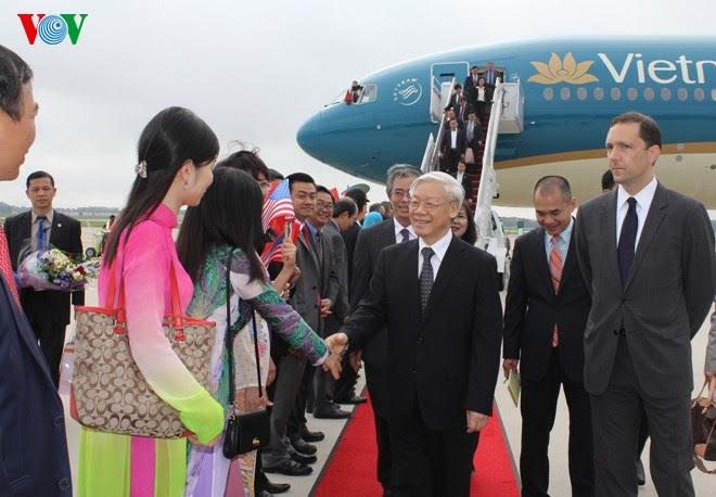 Tổng bí thư, Nguyễn Phú Trọng, Hoa Kỳ, Boeing