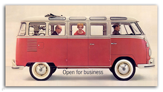 Look How Brilliant This Old Volkswagen Bus Brochure Is And I Swear That's The Redhead From Mad Men There