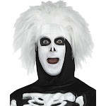 Saturday Night Live David S. Pumpkins Beat Boy Skeleton Adult Costume Wig - One Size