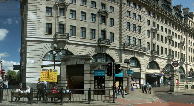 Panoramic Images Of The World Baker Street Tube Station