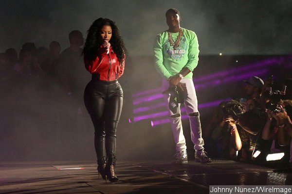 Meek Mill Performs With Nicki Minaj, Couple Declares Love for Each Other at Summer Jam