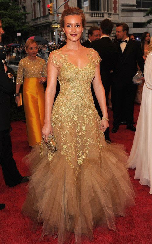 Costume Institute Gala Met Ball - May 7, 2012, Leighton Meester
