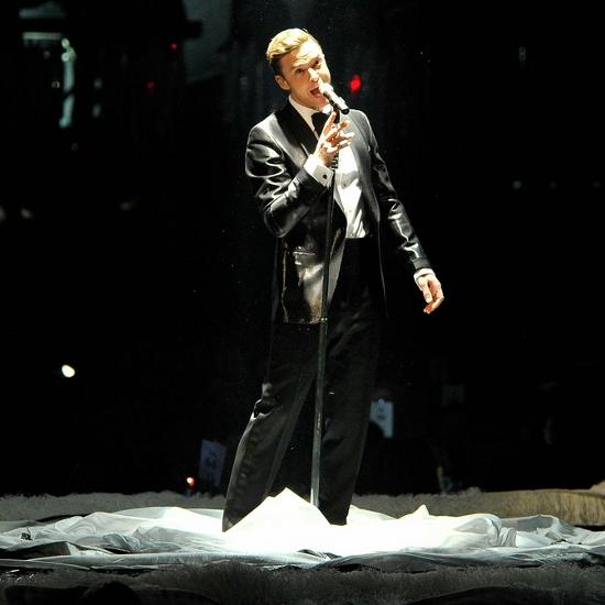 2013 Brit Awards, Justin TImberlake