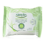 Simple Eye Makeup Remover Pads, 30 Ea