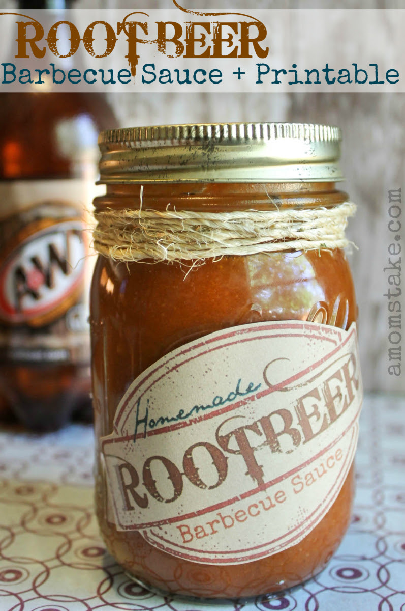 Root Beer Barbecue Sauce