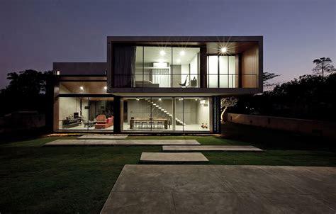 contemporary  house designed  idin architects