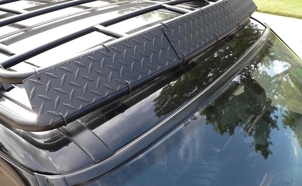 nesafe buy diy wind deflector roof rack