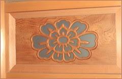 Chizu 13 wooden mandala