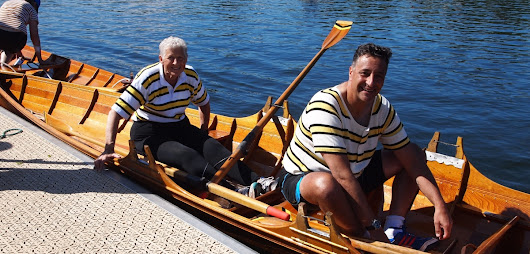 Thames skiffing: both decades ahead and behind rowing