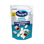 Ocean Spray Craisins Greek Yogurt Covered 5 Ounce