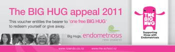Voucher for a big hug