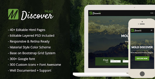 Download Mold Discover - Travel & Tour HTML Template for Adventure/Tourism Agency nulled | OXO-NULLED