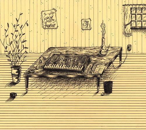 little coffee table