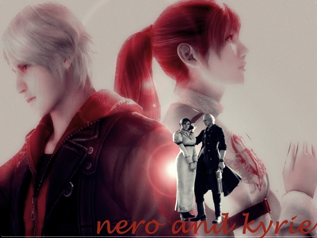 Nero And Kyrie Devil May Cry 4 Wallpaper 15221171 Fanpop