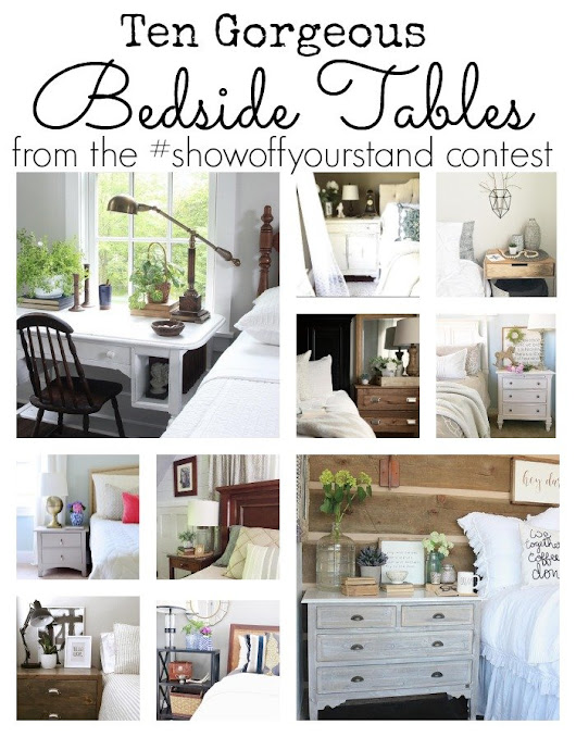 Ten Gorgeous Bedside Tables - In The New House Designs
