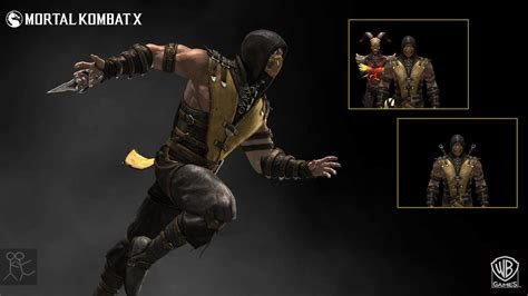 picture  scorpion  mortal kombat costume hd