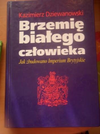 Okładka książki Brzemię białego człowieka