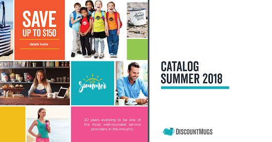 DiscountMugs Summer 2018 Catalog