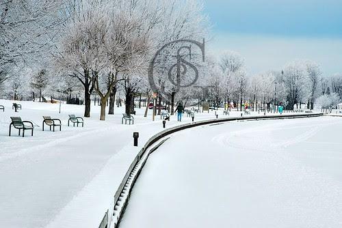 Orillia - Couchiching Boardwalk Winter
