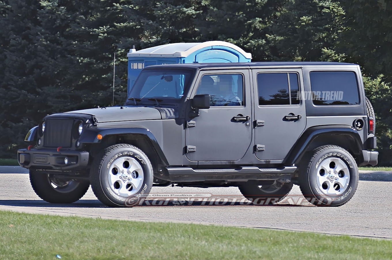Spied 2018 Jeep Wrangler Prototype Caught With Live Axle ...