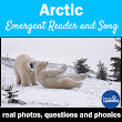 Arctic Region Interactive Vocabulary Book and Song