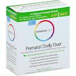 Rainbow Light Just Once Prenatal Daily Duo, Prenatal One Plus Prenatal DHA Smart Essentials, Tablets/Softgels - 30 sets