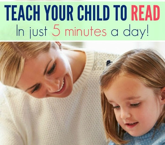 Teach Your Child to Read in Just 5 Minutes a Day! - Hip Homeschool Moms