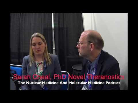 Episode 66 Dr Sarah Cheal novel Theranostics for colorectal cancer Video