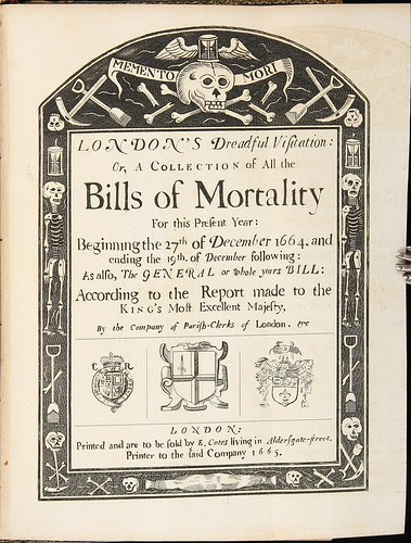 Memento Mori - Bills of Mortality