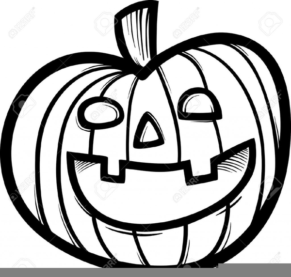 Black White Pumpkin Clipart Free Free Images At Clkercom Vector