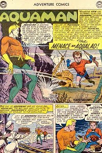 Adventure #270 Aquaman Splash Page