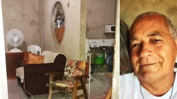Juarez da Silva foi assassinado dentro de casa (Foto: Divulgação/PM)