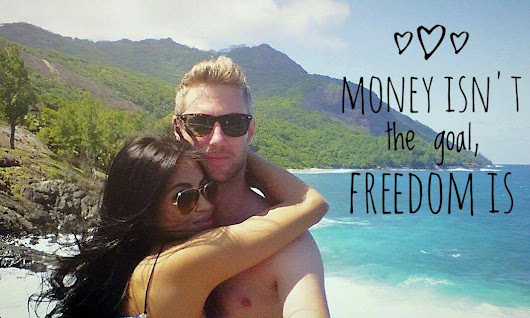 Motivational Monday; Money ISN'T the Goal, Freedom Is | One Step 4Ward