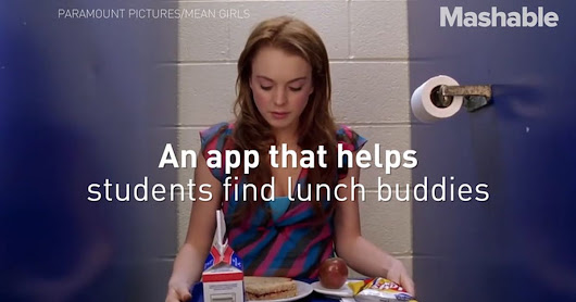 Meet the 16-year-old founder of 'Sit With Us', an app helping kids find lunch room buddies.