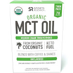 Sports Research Organic MCT Oil Derived from Only