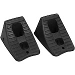 Rhinogear Heavy Duty Wheel Chocks, Plastic - 2 count