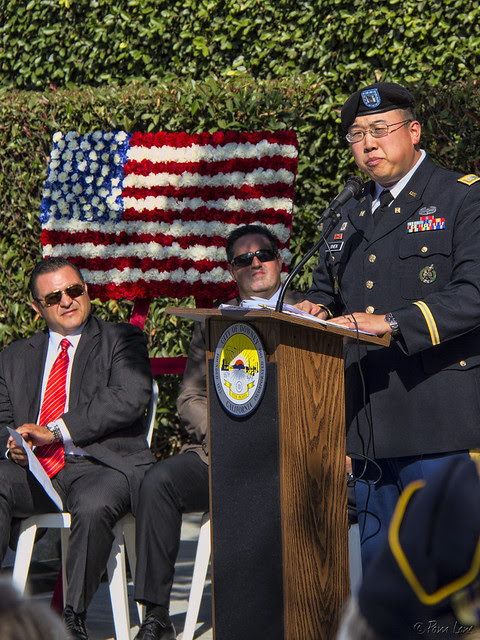 Downey Veteran's Day Capt. Victor Shen